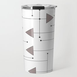 Lines & Arrows Travel Mug