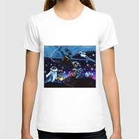 wall e T-shirts featuring Wall-E Collage by artbywilliam