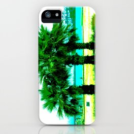Tropical Tree Trio iPhone Case