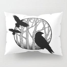 Black Birds II Pillow Sham