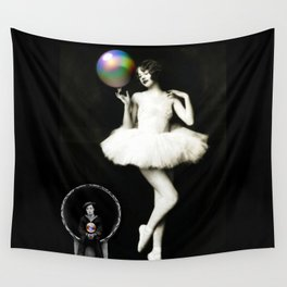 Buster & the Ballet Dancer Wall Tapestry