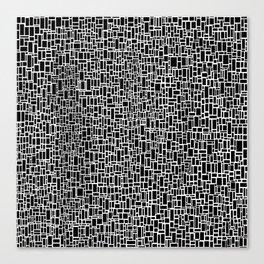 Black & White 7 Canvas Print