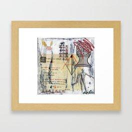 Logic & Theorems Framed Art Print