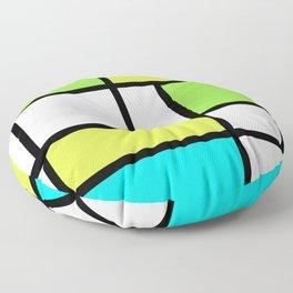 The fake Piet Mondrian Floor Pillow