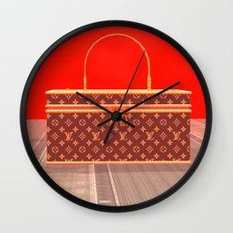 Squared: Louie Louie Louie Wall Clock