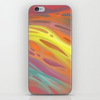 aurora iPhone & iPod Skins featuring Aurora by Ma. Luisa Gonzaga