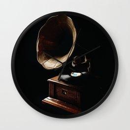 Gramophone Wall Clock