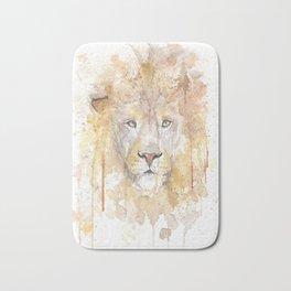 Beautiful African Lion Bath Mat