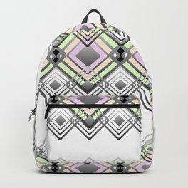 Geometric pattern. Backpack