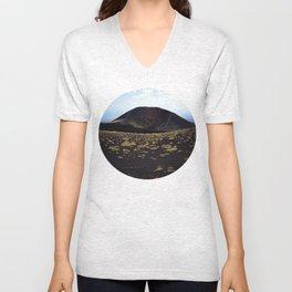 Mount Etna Sicily Unisex V-Neck