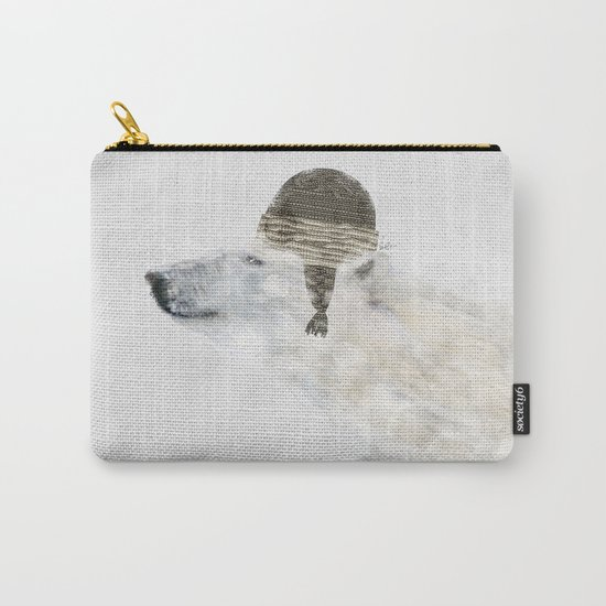 hello there polar bear Carry-All Pouch