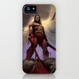 Conan the Barbarian iPhone Case