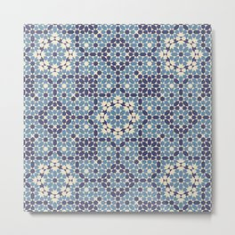 Moorish Desert Blues Metal Print