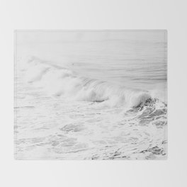 Pacific Ocean from Manhattan Beach Throw Blanket