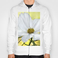 Floral White Cosmos Hoody