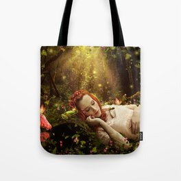 Whilst You Were Sleeping Tote Bag