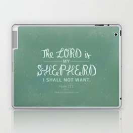 Psalm 23:1 Laptop & iPad Skin
