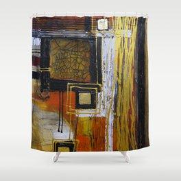 Golden Indulgence Shower Curtain