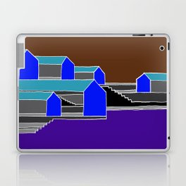 Black Stairs Laptop & iPad Skin