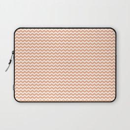 Chevron Orange Laptop Sleeve