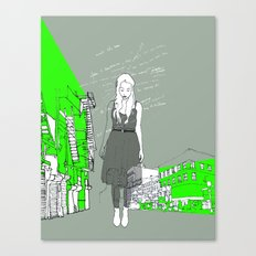 14th & 6th ave Canvas Print