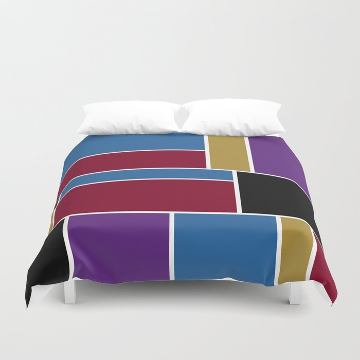 Abstract #419 Duvet Cover
