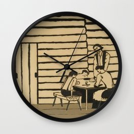 Family Supper Horace Pippin Wall Clock