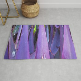 433 - Abstract plant design Rug