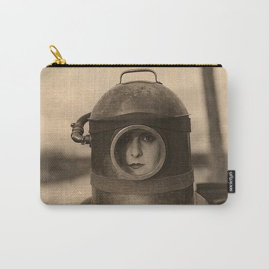 Scaphandre vintage photo Carry-All Pouch