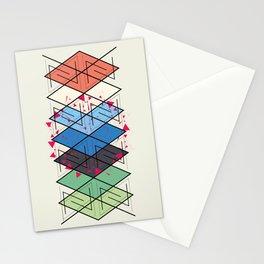 Fractal pattern Stationery Cards