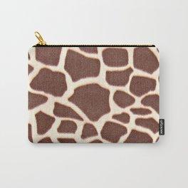 Giraffe Animal Pattern Print Carry-All Pouch