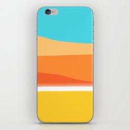 Beach Mountains iPhone Skin