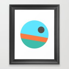 Galactic Holidays Alternate Framed Art Print