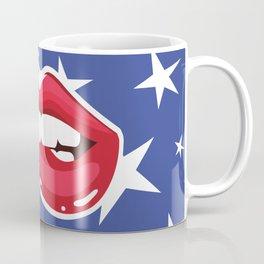 Bite My Lip Patriotic Coffee Mug