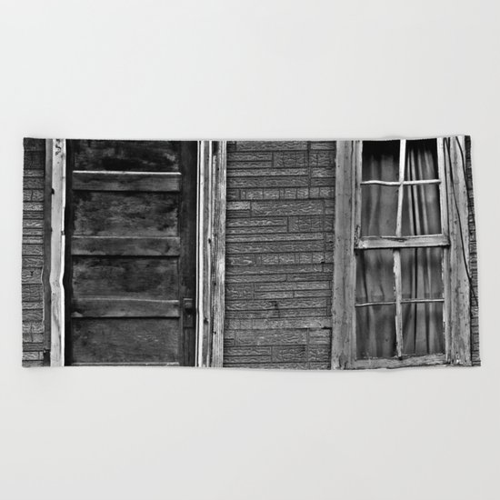The Grand Door And Window Beach Towel