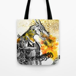The dynamo and the virgin Tote Bag