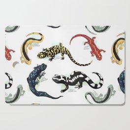 Salamanders Cutting Board