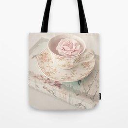 Floating Rose Tote Bag