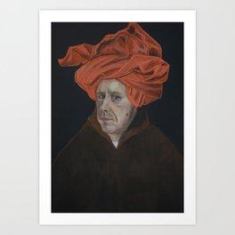 Self Portrait with a Turban Art Print