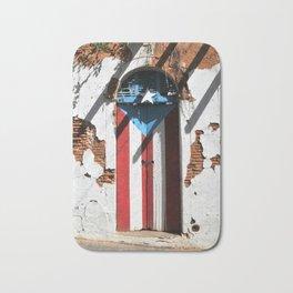 Puerto Rico Flag  pride Badematte