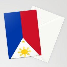 Flag of Philippines -Pilipinas,Filipinas,filipino,pinoy,pinay,Manila,Quezon Stationery Cards
