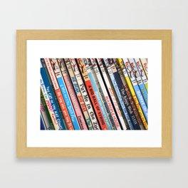 Beginner Books Framed Art Print