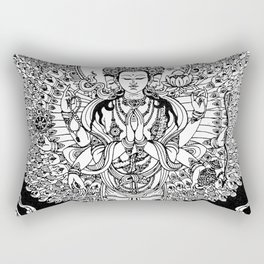 Bodhisattva Rectangular Pillow