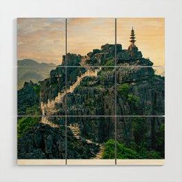 Tam Coc Paddy Fields in Vietnam Fine Art Print  • Travel Photography • Wall Art Wood Wall Art