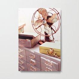 Open Air Office Metal Print