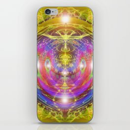 "Solar Code ""New Earth Frequency"" iPhone Skin"