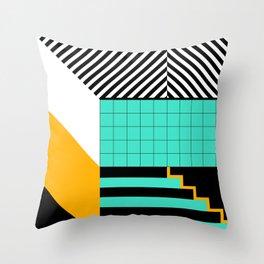 Den Haag Print Throw Pillow