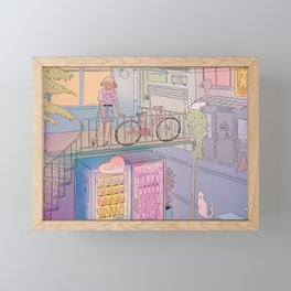 City Escape Framed Mini Art Print