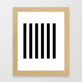 Stripe's Vertical HD by JC LOGAN Framed Art Print