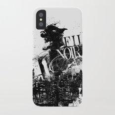 Like a Film Noir iPhone X Slim Case